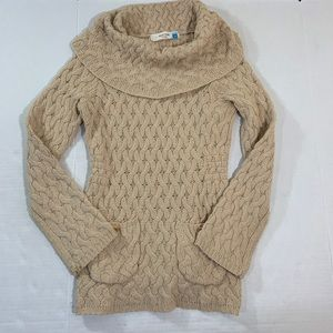 Anthropologie Sparrow Cowl Neck Sweater BOHO M